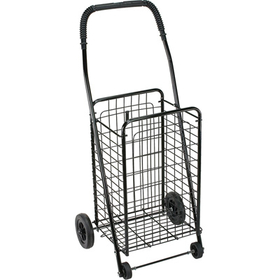 FOLDABLE SHOPPING TROLLEY DOUBLEACE