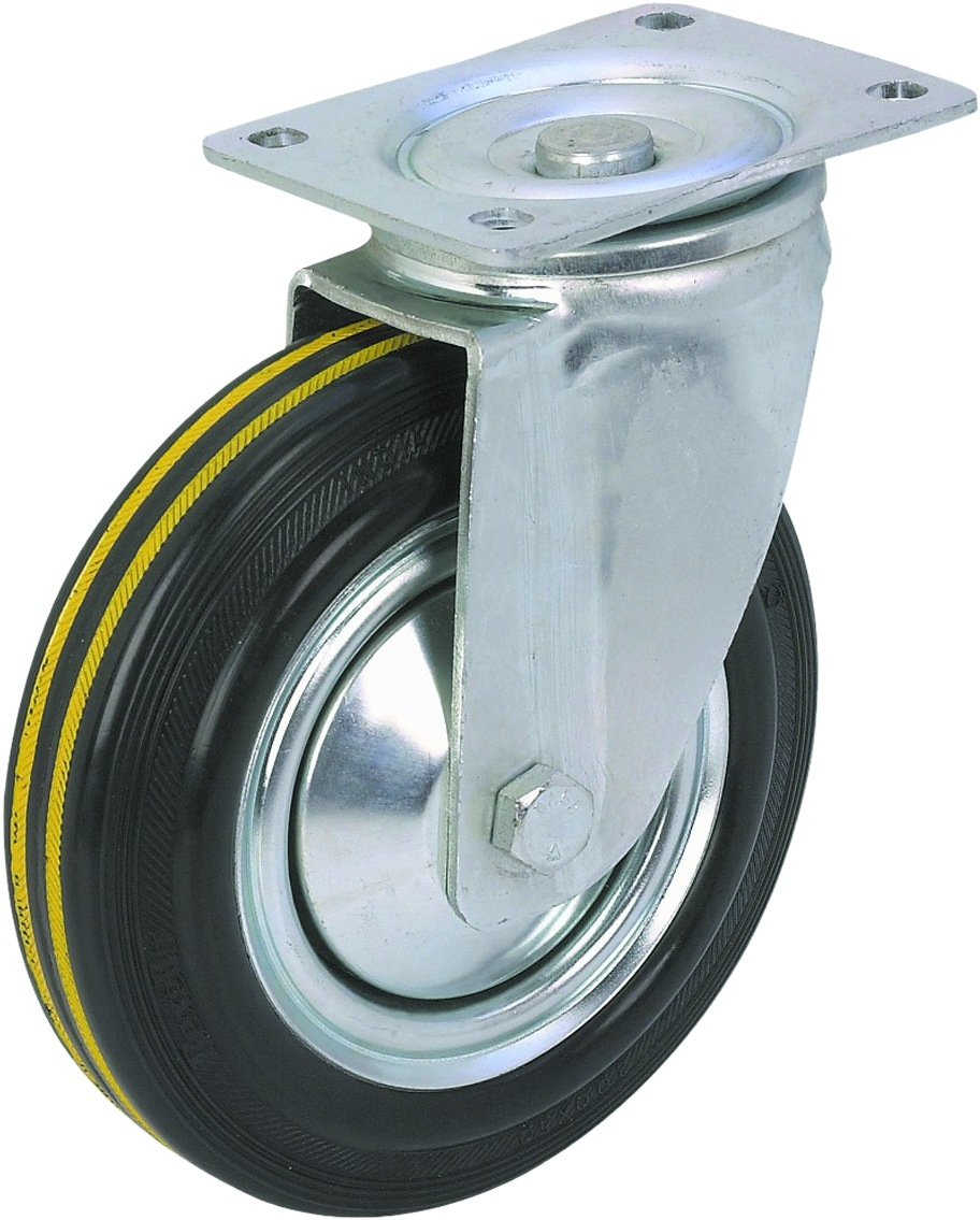 2INS TWIN WHEEL CASTER W STOPPER