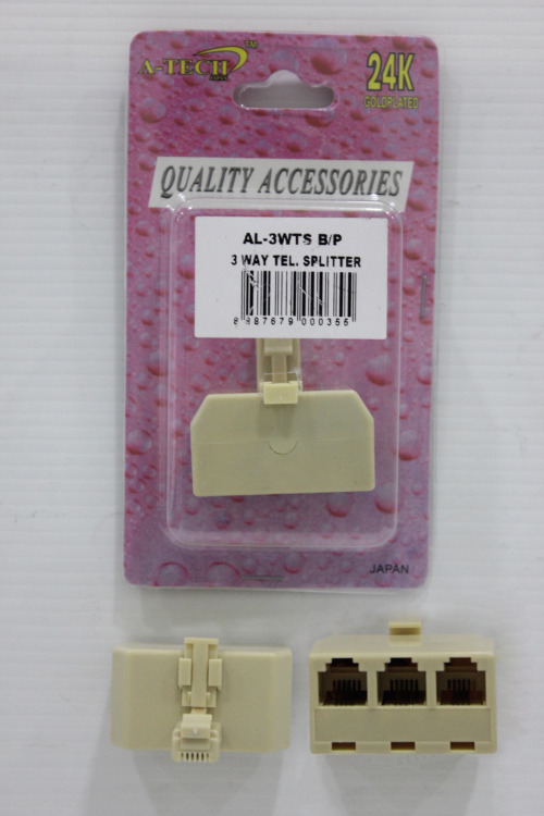 TEL ADAPTER AL-3WTS 3WAY