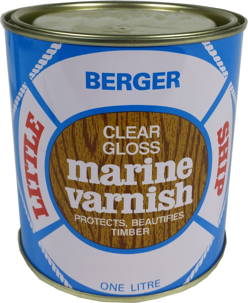 BERGER 1L VARNISH CLEAR/MATT PAINT
