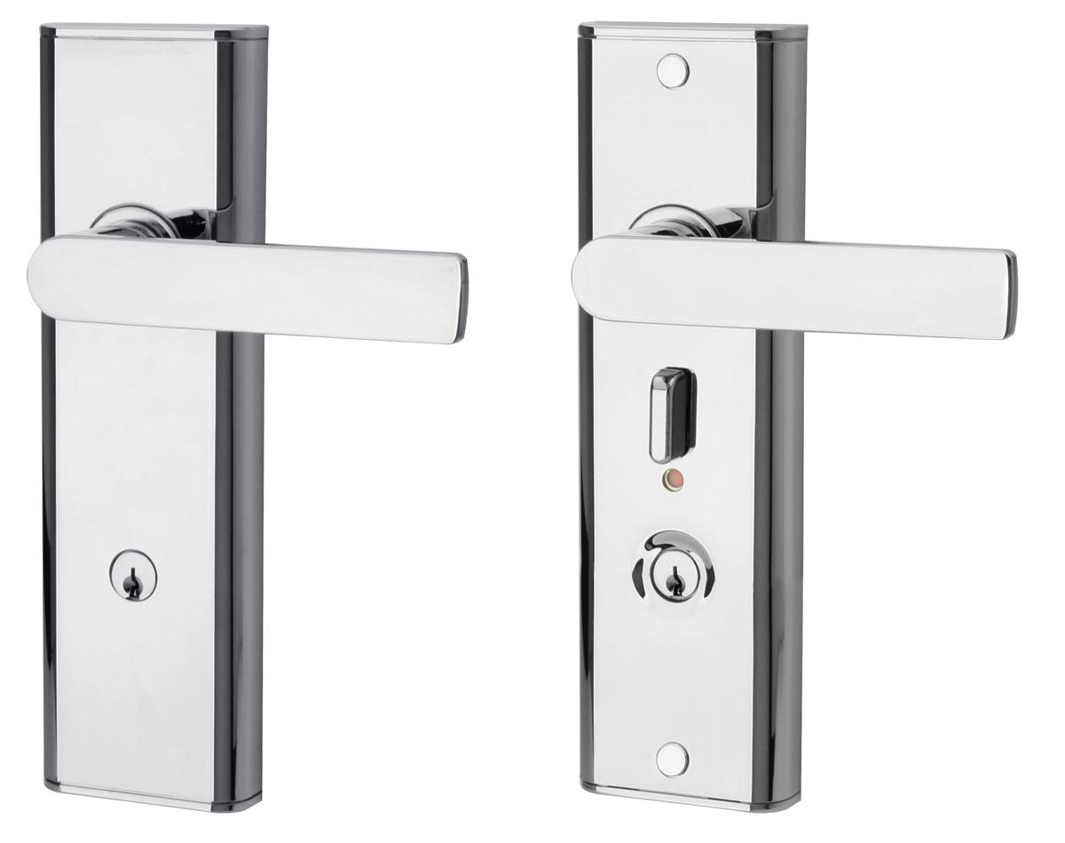 DOOR HANDLE LOCK SET HDB 98B 210MM SL