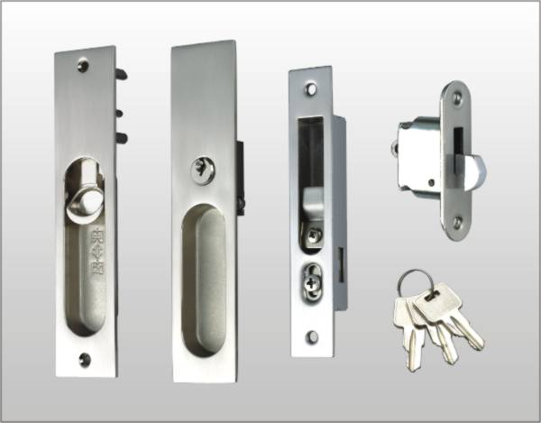 SLIDING DOOR LOCKSET TS 5 ALPHA
