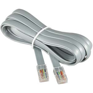 AL-206 P/2S 7FT PIN/2SOCKET TEL CABLE