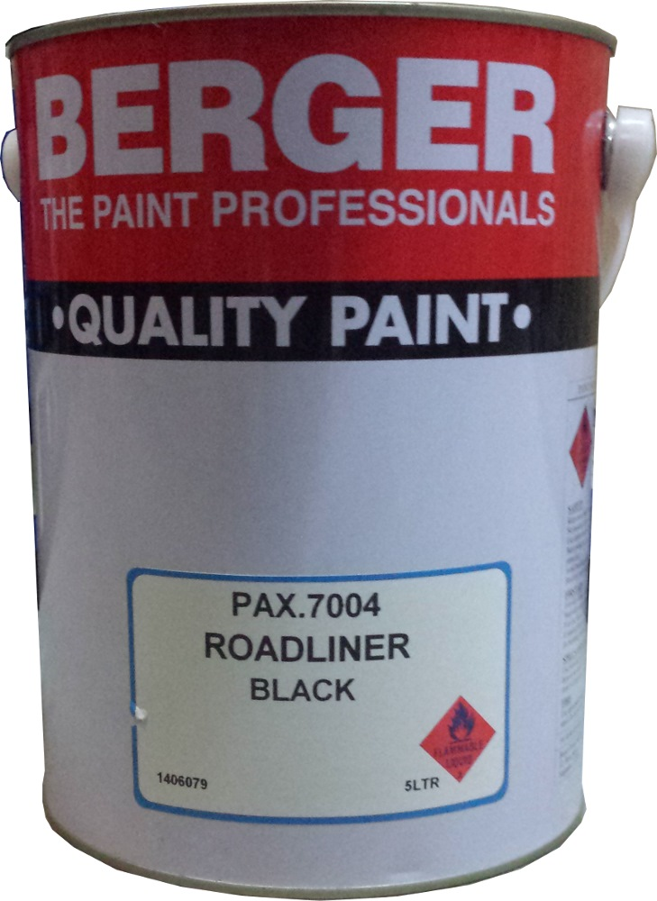 BERGER 5L 7001 ROADLINE WHITE PAINT
