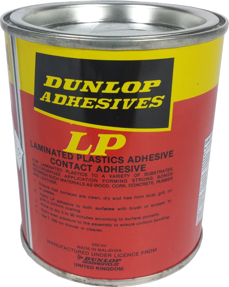 ADHESIVES GLUE 65ML DUNLOP