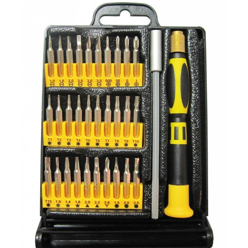 PRECISION SCREWDRIVER SET 32PCS