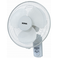 WALL FAN 16INS W/REMOTE SONA SFWR1526