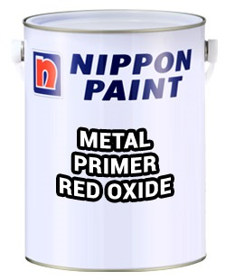 1L NIPPON PAINT METAL PRIMER RED OXIDE