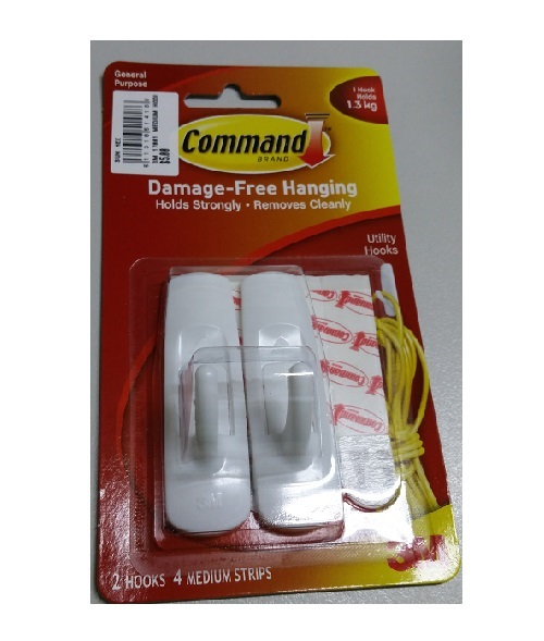 3M 17001 MEDIUM HOOK W COMMAND