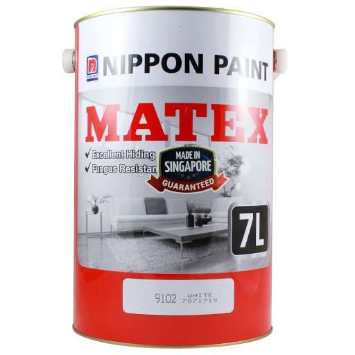 7L 9102 WHITE MATEX EMULSION PAINT