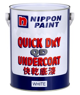 1L NIPPON PAINT UNDERCOAT QD WHITE